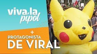 BAILA PIKACHU: La mujer tras el viral de pokemon en protestas en Chile - Viva La Pipol