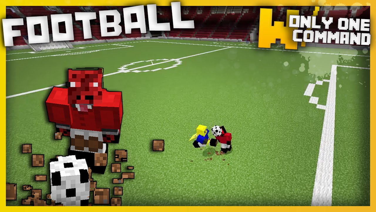 Minecraft football in one command