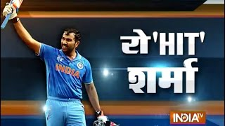 Cricket World Cup 2015: Rohit Sharma's Ton Helps Team India to Seal Birth in Semi-finals - India TV