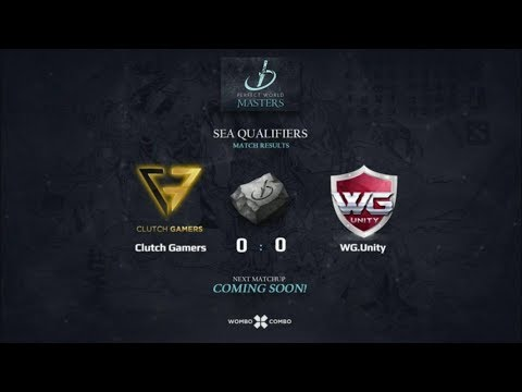 Clutch Gamers vs WG.Unity Game 1 (BO3) | Perfect world masters SEA Qualifiers