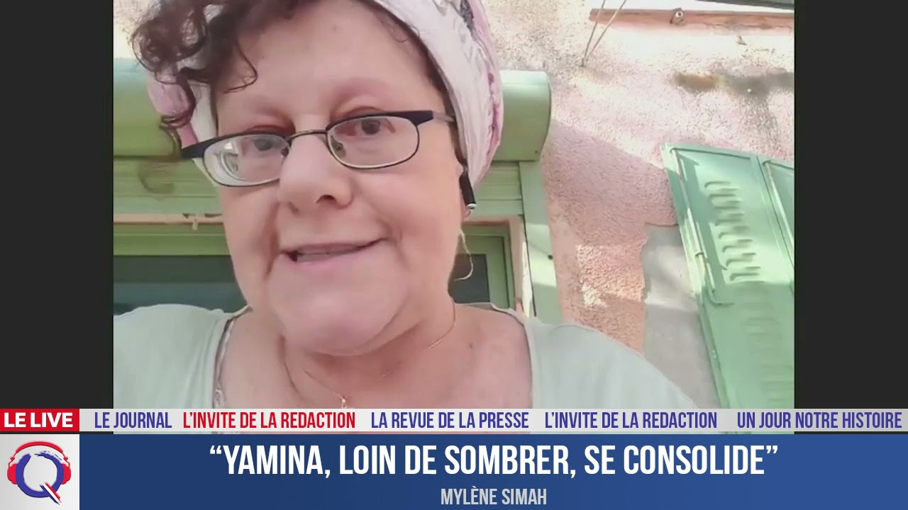 """""""Yamina, loin de sombrer, se consolide"""" - L'invité du 14 juillet 2021"""