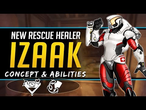 Overwatch NEW Rescue Healer Hero Izaak - Concept, Lore, Abilities, and more! thumbnail