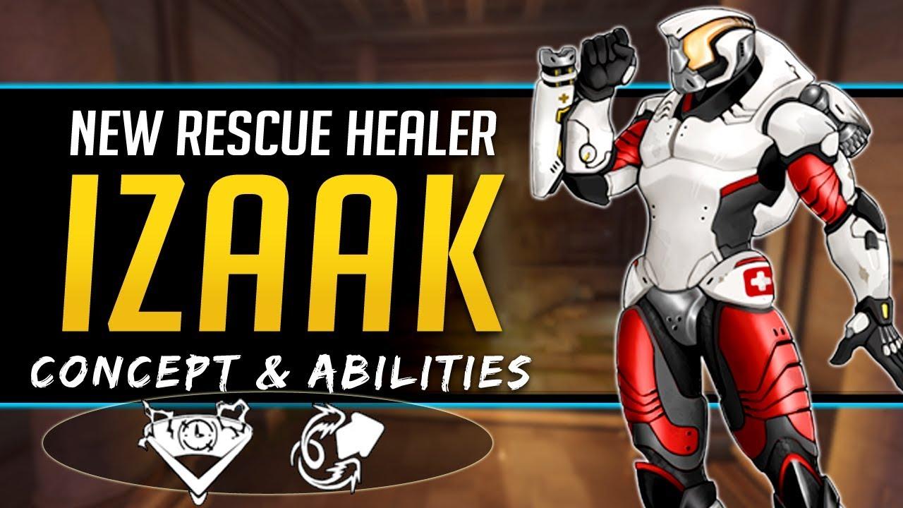 Download Overwatch NEW Rescue Healer Hero Izaak - Concept, Lore, Abilities, and more!