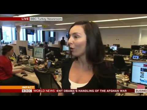 BBC World News: Charlotte Whale Live cross on unrest in Turkey