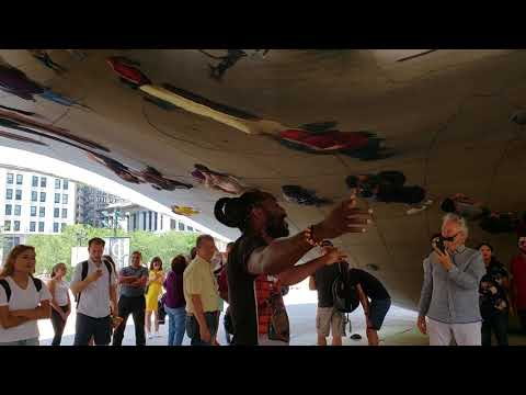 """KNOw CA$H Was Asked By A Cashiz 2 Sang John Legend's """"All Of Me"""" Under The BEAN In Chicago & He Did."""
