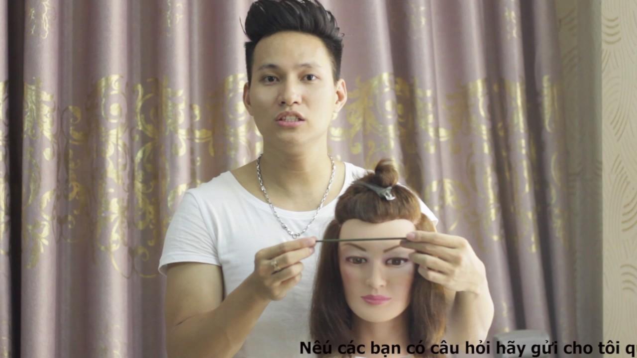 Hướng dẫn cắt tóc cơ bản -bài 1 lý thuyết về các đường chia