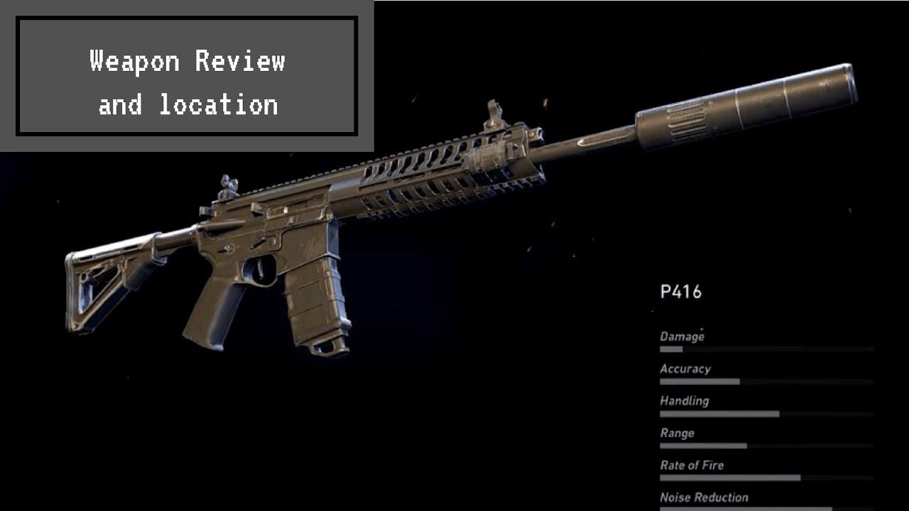 P416 Weapon Review & Location | Ghost Recon Wildlands | Doovi