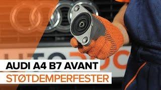Montering Dynamo AUDI A4: videoopplæring