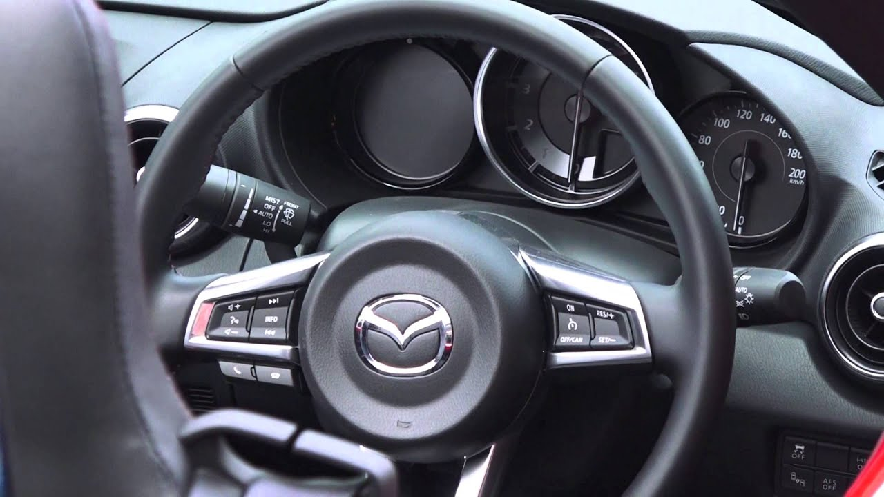 MAZDA 新型ロードスター インテリア編 new mazda roadster mazda mx,5 , YouTube