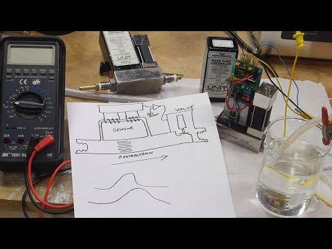 mass flow meter hook up drawing