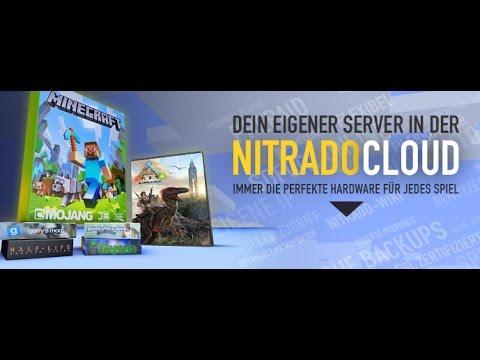 Minecraft Nitrado Server Erstellen YouTube - Minecraft server erstellen nitrado kostenlos