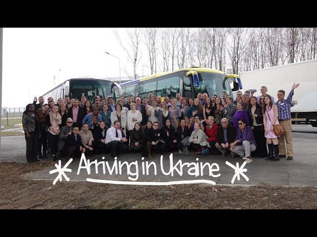 Staging and Arrival in Ukraine | A Peace Corps Vlog