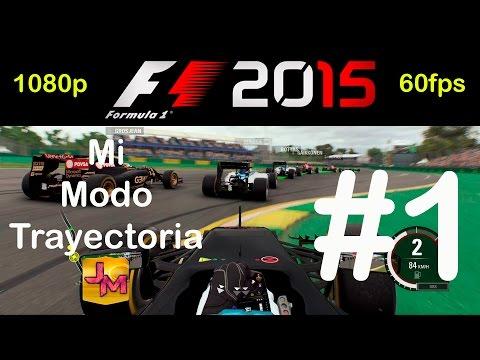 F1 2015   Mi Modo Trayectoria #1   PS4   1080p60   Gameplay Español Walkthrough
