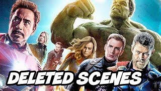 Avengers Endgame Deleted Scenes and New Avengers  Villains Breakdown