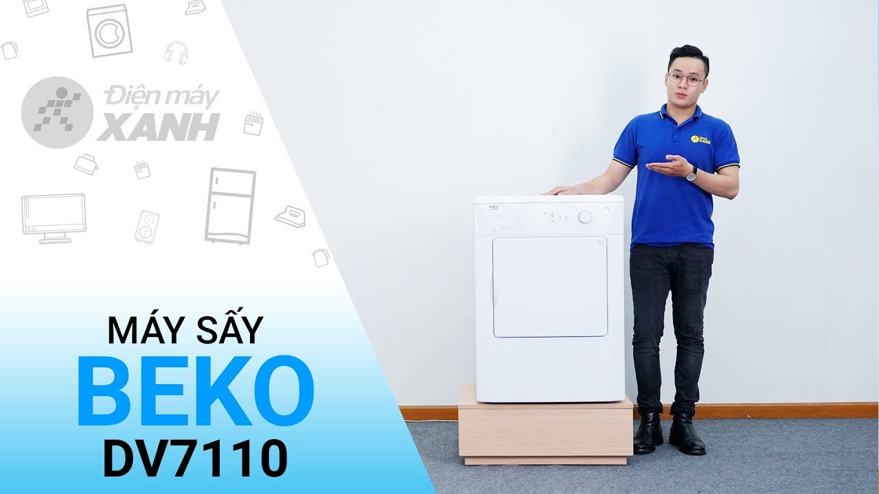 Máy sấy Beko DV7110: Sấy quần áo khô như con mực • Điện máy XANH