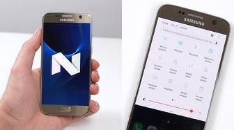 Samsung Galaxy S7 & S7 edge: Die Neuerungen des Android 7.0 Nougat Updates (Deutsch)   SwagTab