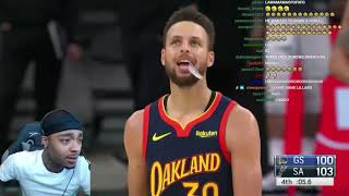 FlightReacts WARRIORS at SPURS | FULL GAME HIGHLIGHTS | February 8, 2021!