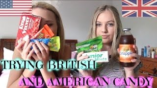 AUSTRALIANS TRY AMERICAN AND BRITISH CANDY