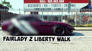 MODIF NISSAN FAIRLADY Z LIBERTY WALK | NEED FOR SPEED HEAT INDONESIA | PART 34