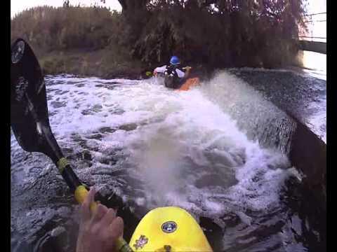 kayaking weir