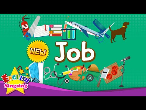 Kids vocabulary - [NEW] Job - Let's learn about job - Learn English for kids