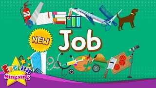 Kids vocabulary - Jobs - Let