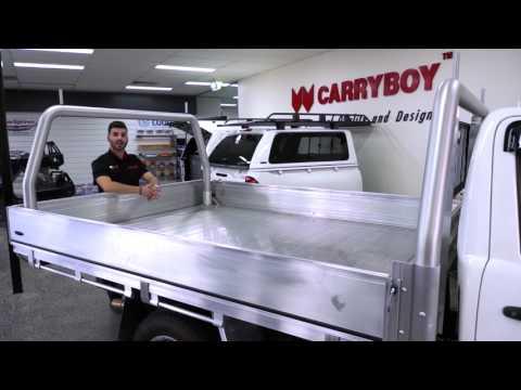 Our New Aluminium Ute Trays