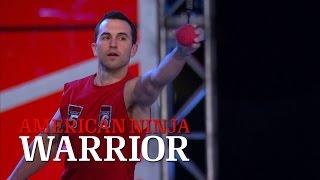 Joe Moravsky at Stage 3 of the 2014 National Finals | American Ninja Warrior