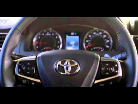 2016 Toyota Camry Lane Departure Alert System Youtube