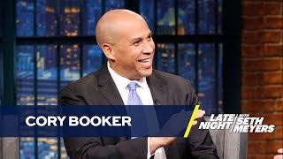 Senator Cory Booker Is Very Concerned About Trump