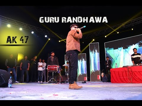Guru Randhawa | Live | AK47 | Noida | Latest Video