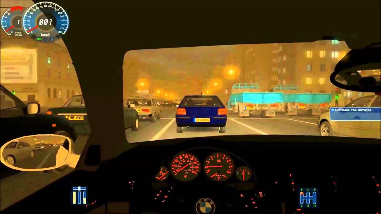City Car Driving Bmw E39 M5 On Horrible Traffic Jam Youtube