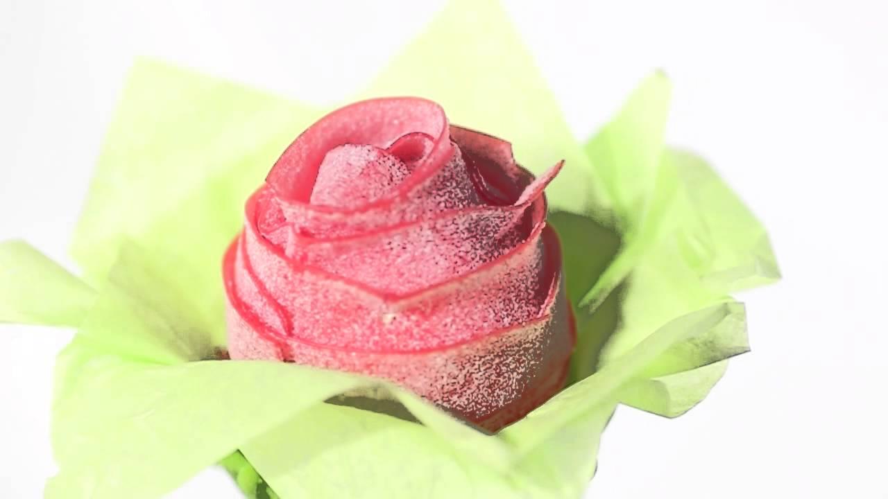 Comment Faire Un Bouquet De Roses la véritable rose candy - bouquet de bonbons - candy-mail