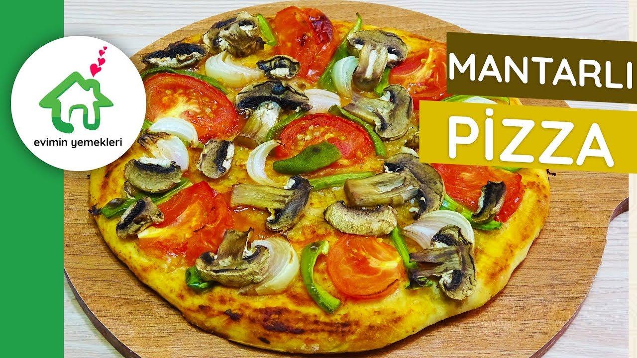 Ev Yapımı Karışık Pizza Nasıl Yapılır Videosu