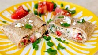 Cooking Guru - S1E6 - Mediterranean Veggie Wrap