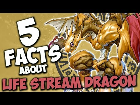 5 Facts About Life Stream Dragon - YU-GI-OH! Facts & Trivia