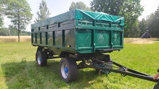 Remont kapitalny przyczepy ciężarowej-rolniczej Autosan D633 szóstka (d55 d50 Odnowa/Odbudowa wywrot