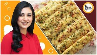 Creamy Chicken & Mushroom Stuffed Crepes Recipe with Sarah Khan - Food Fusion