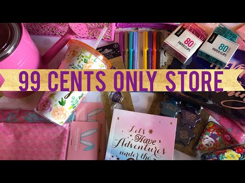 99 Cents Only Store Haul | Stationery & Spring Items