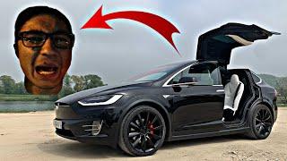 Alphadelta06 n'a pas assumé là Tesla Model X 😂