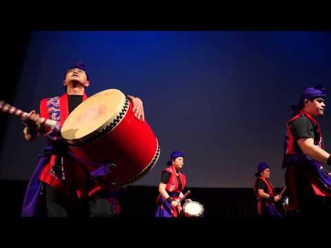 Okinawan Eisa Drum Dance @ San Francisco Day Of Remembrance 2014