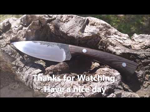 Knifemaking : Lets make a knife from a file