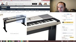 How to Select a Quality Piano Keyboard on a Budget - Livestream Segment