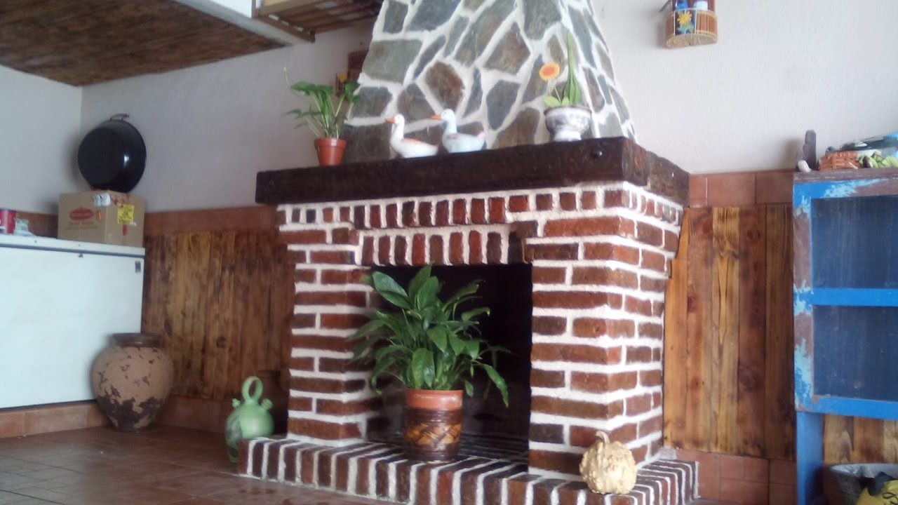 Como hacer una chimenea how to make a fireplace 123vid - Como construir una chimenea paso a paso ...
