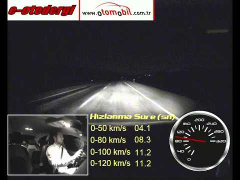 VW Jetta 1.6 TDI (105 HP) DSG (otomatik) Test (0-100 Km/s, 100-0 Km/s)