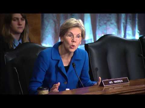 Senator Warren Questions NY Fed President William Dudley