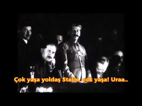 Josef Stalin - Moskova Metrosu Açılış Konuşması, 15 Mart 1935
