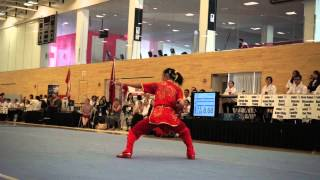 2015 Canadian Wushu Nationals – Winnie Cai – Shuang Jian