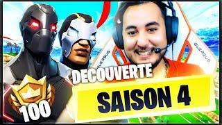MON PREMIER TOP1 DE LA SAISON 4 !!! ► FORTNITE