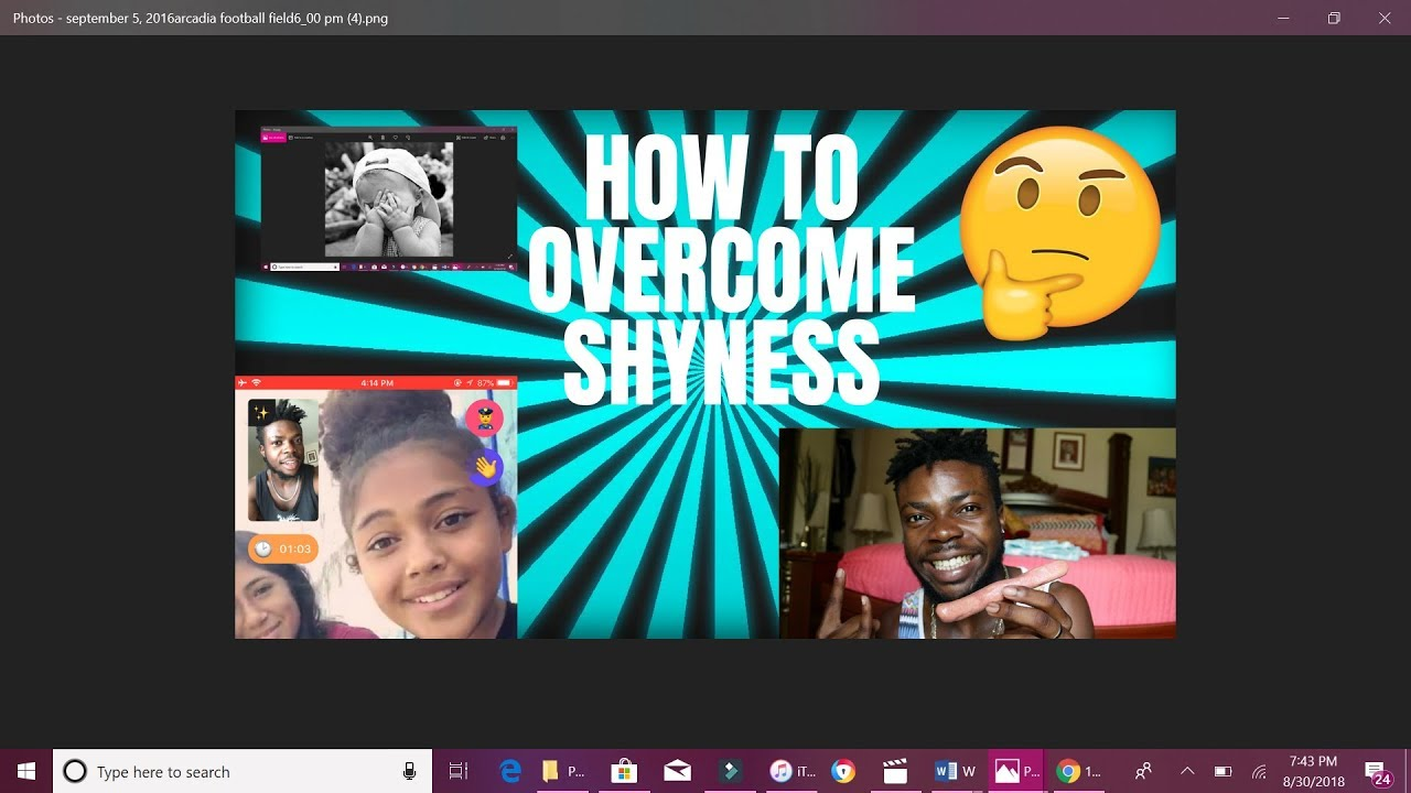 How To Overcome Shyness - Tabizzle Prime Radio Show